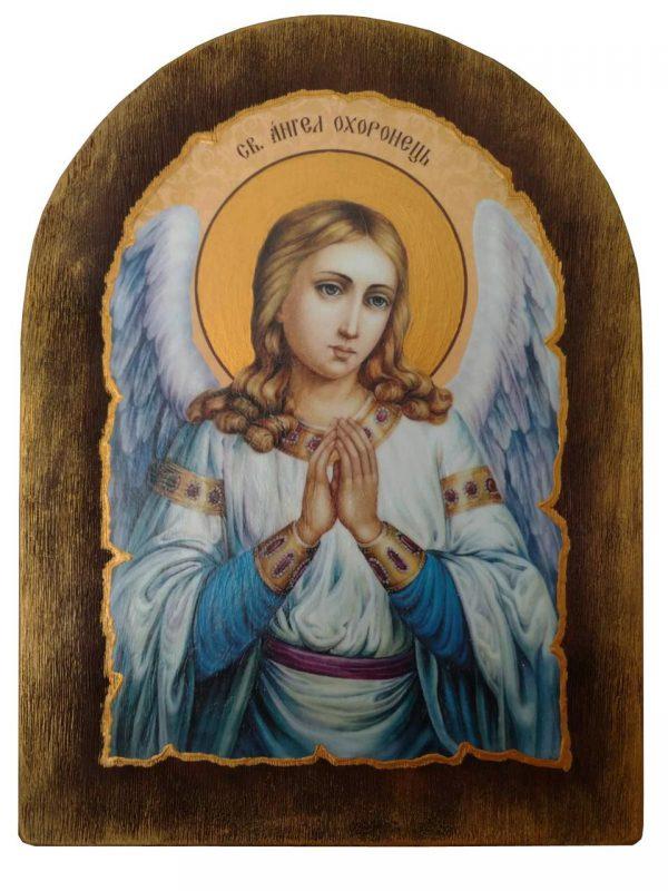 Ікона подарункова Ангел охоронець ікона для дому