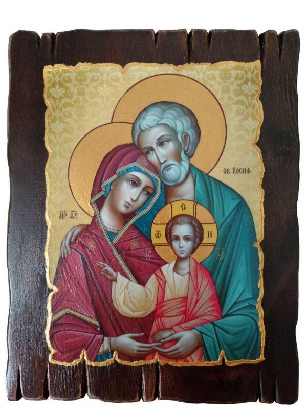 Ікона з росписом Святе  сімейство