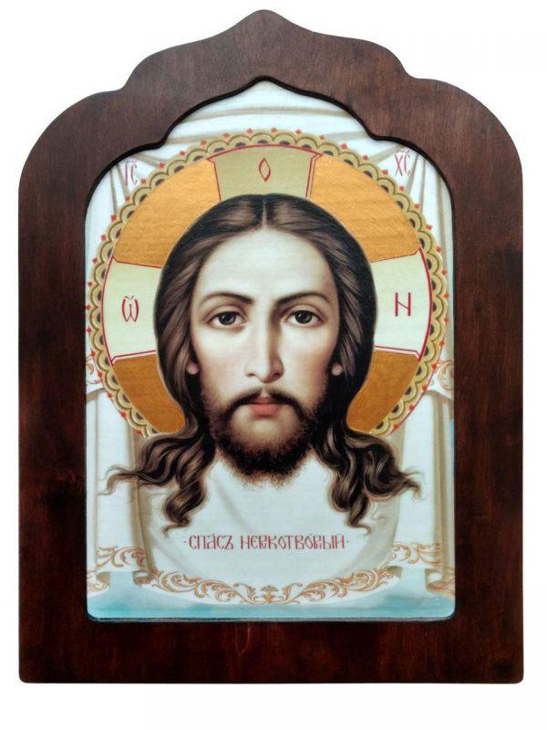 Ікона ручної роботи Спас  Нерукотворний