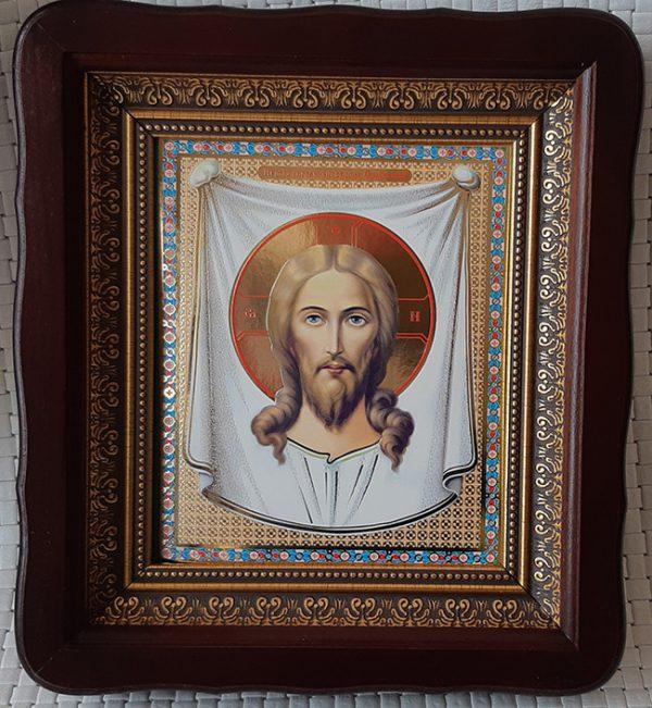Икона Спас Нерукотворный 23х26см