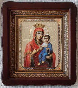 Иверская икона Божией Матери для дома или на подарок 23*26cm