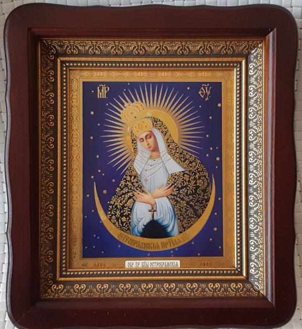"""Икона Божией Матери """"Остробрамская""""  для дома или на подарок 23*26cm"""