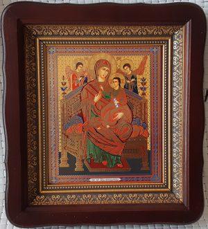 """Икона Божией Матери """"Всецарица""""  на подарок или для дома 23*26cm"""
