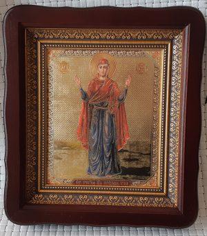 """Икона Божией Матери """"Нерушимая Стена""""  на подарок или для дома 23*26cm"""