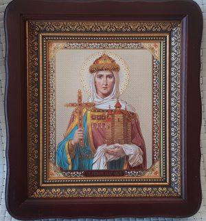 Икона святой Ольги для дома или на подарок 23х26см