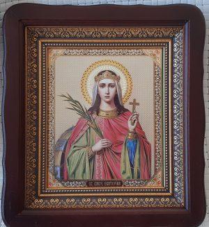 Икона святой Екатерины 23х26см