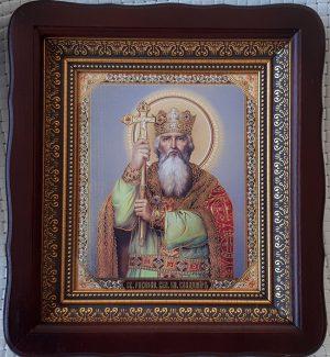 Икона князь Владимир для дома или на подарок 23х26см