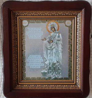 """Икона Божией Матери """"Геронтисса/Старица"""" для дома 23*26cm"""