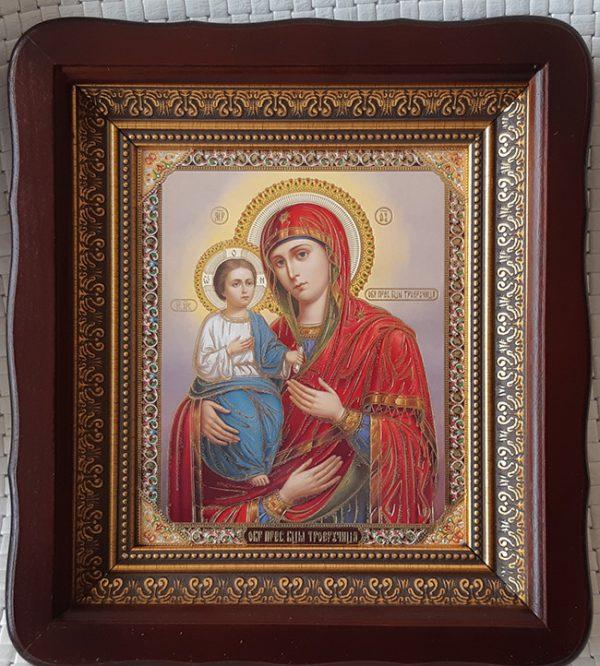 """Икона Божией Матери """"Троеручица"""" для дома 23*26cm"""