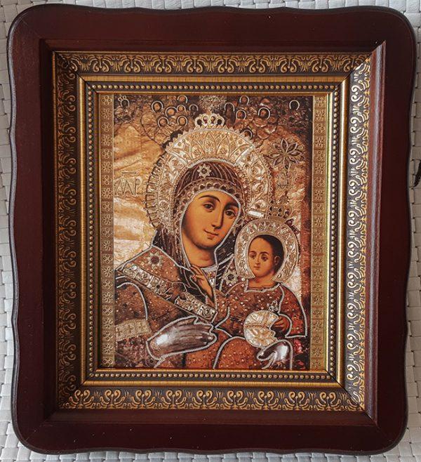 """Икона Божией Матери """"Вифлеемская"""" в ризе для дома 23*26cm"""