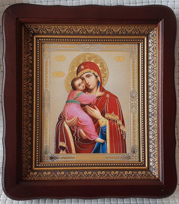 """Икона Божией Матери """"Владимирская"""" для дома 23*26cm"""