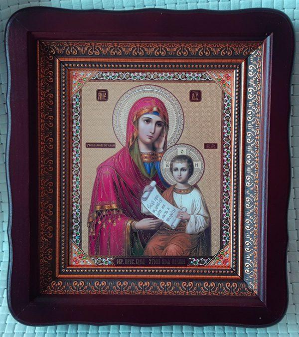 """Икона Божией Матери """"Утоли Моя Печали"""" для дома 23*26cm"""