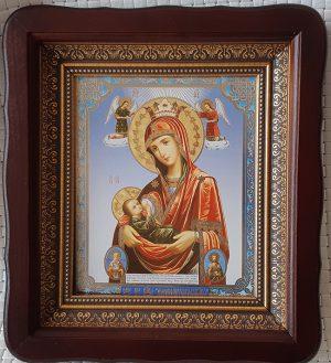 """Икона Божией Матери """"Млекопитательница"""" для дома 23*26cm"""
