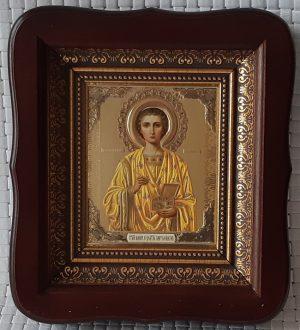 Икона Святого великомученика и целителя Пантелеймона 23*26см