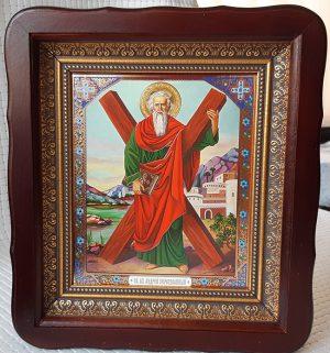 Икона апостола Андрея Первозванного 23*26см