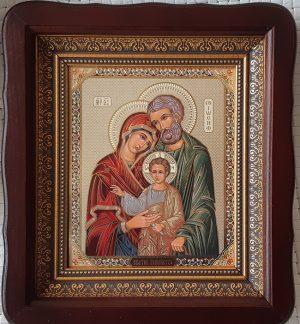 """Икона """"Святое Семейство"""" литография на подарок 23*26см"""