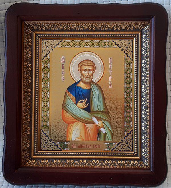 Икона Святого Апостола Петра для дома 23*26см