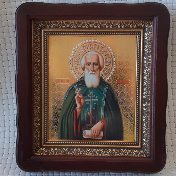 Святой Преподобный Сергий Радонежский икона для дома 23*26см
