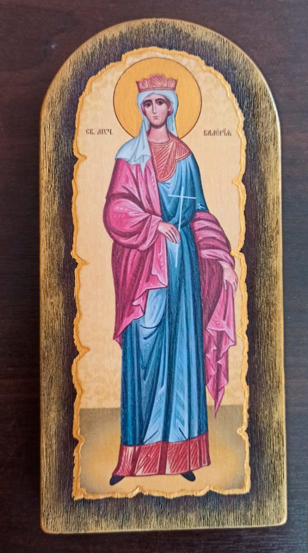 Ікона на замовлення Ікона Свята Валерія
