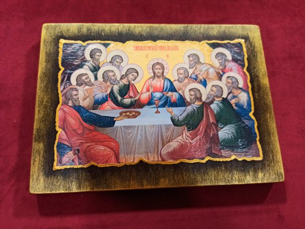 Ікона церковна Тайна вечеря на заказ