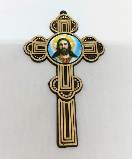 Погребальный Крест (пластик) 12х7см