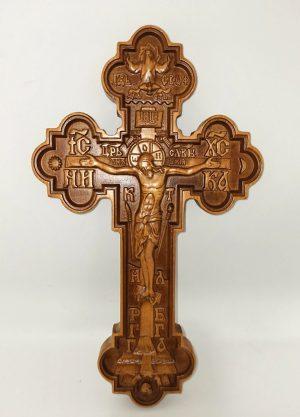 Крест для священника фигурный 29.5*17.5см (бук)