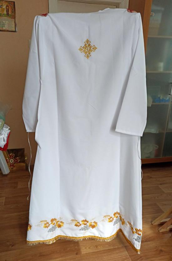 Подризник для священнослужителя габардиновый 156см