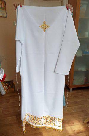 Подризник для священнослужителя габардиновый 154см