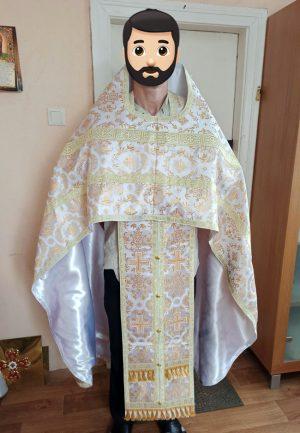 Облачение православного священника с вышивкой р.52