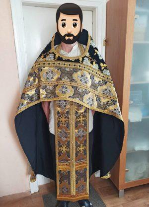 Облачение православного священника 52р. длина 152см