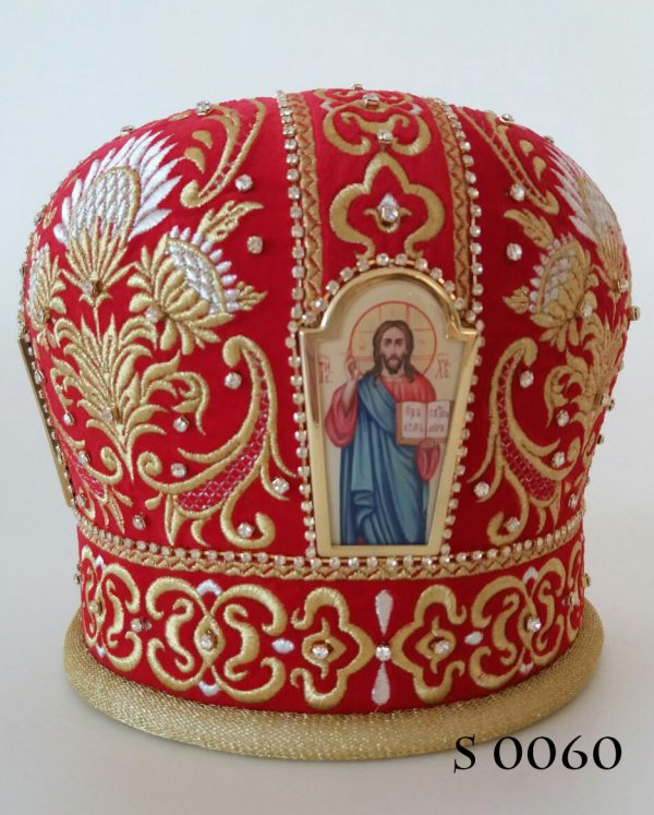 Головной убор священника (митра)