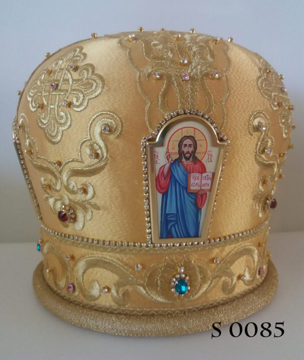 Головной убор митрополита на заказ по каталогу
