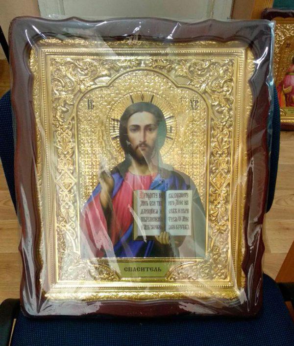 Иконы Спасителя по каталогу православных икон 40х46см