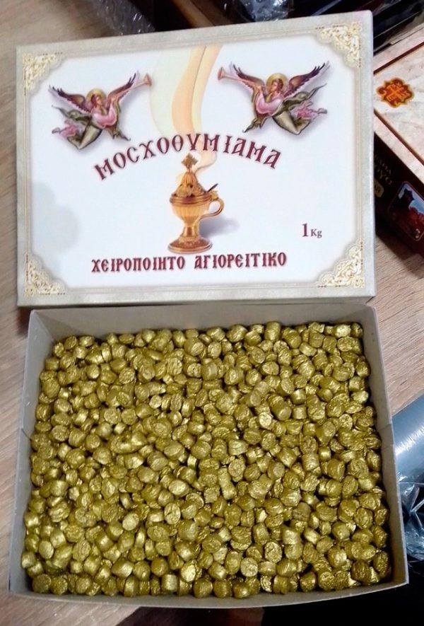 "Ладан ""золото"" из Греции фасовка 1кг и 500 грамм"