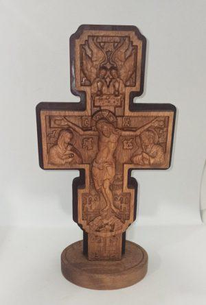 Православный резной Крест 30х17.5см