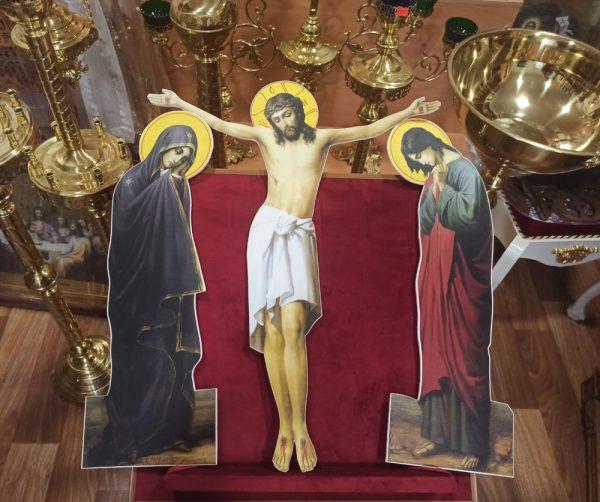 Распятие Христа из пвх для церкви