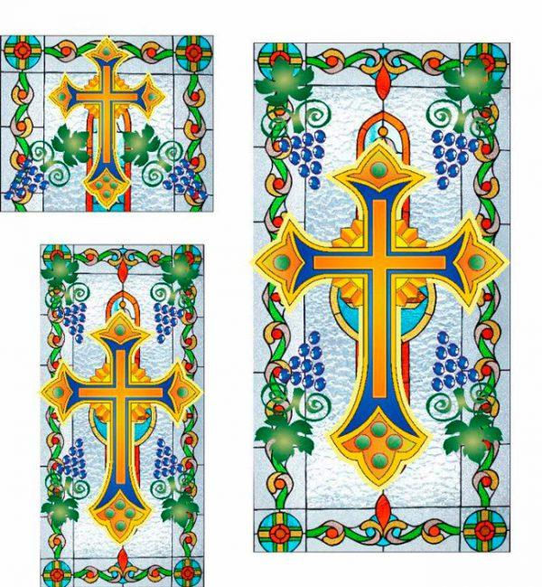 Церковные Витражи на оракале (эксклюзивные макеты под заказ)