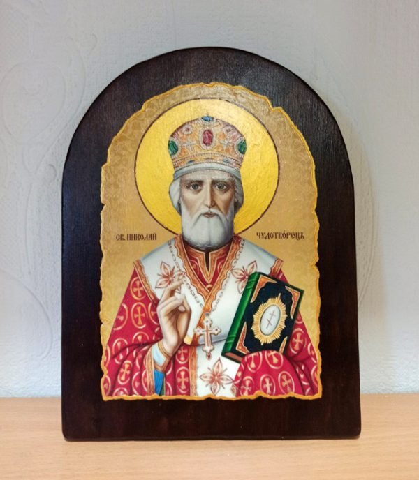 Ікона для дому Святий Миколай