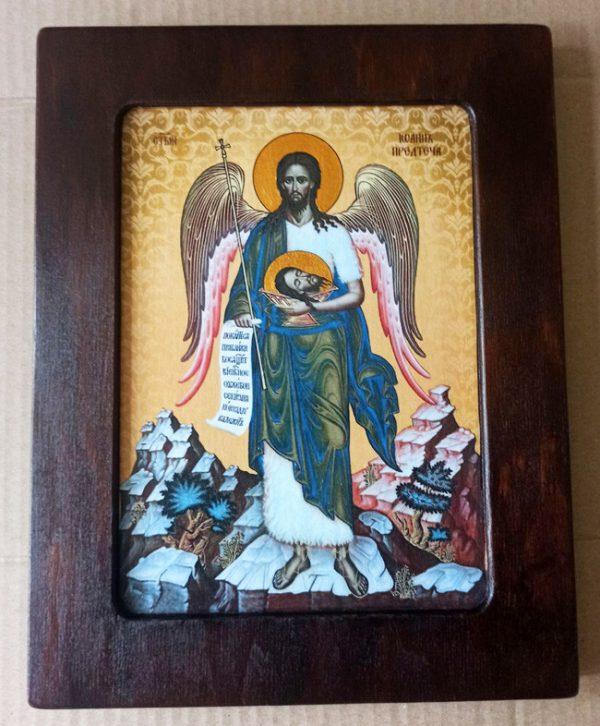 Св. Іоан Предтеча ікона на дереві