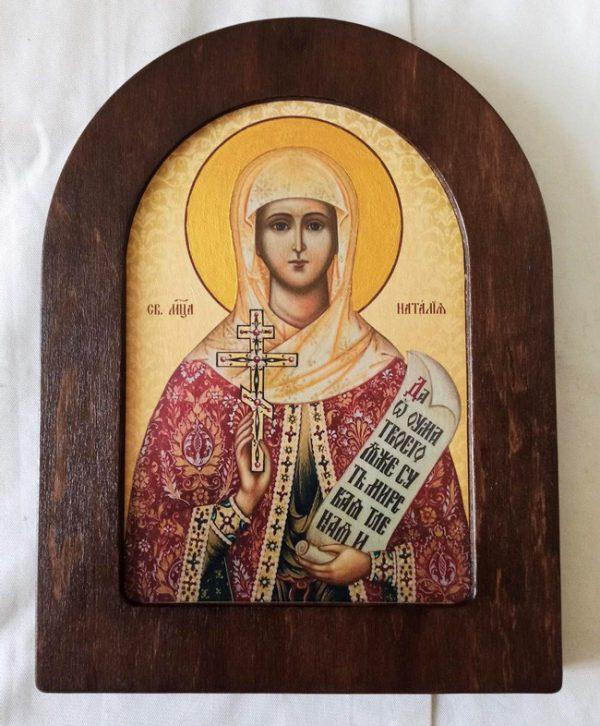 Ікона на дарунок Свята Наталія ікона на дереві