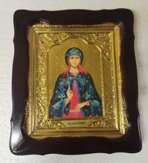 Икона Святая мученица Иулиания 35х30см
