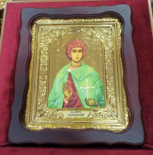 Икона Святой мученик Вонифатий 35х30см