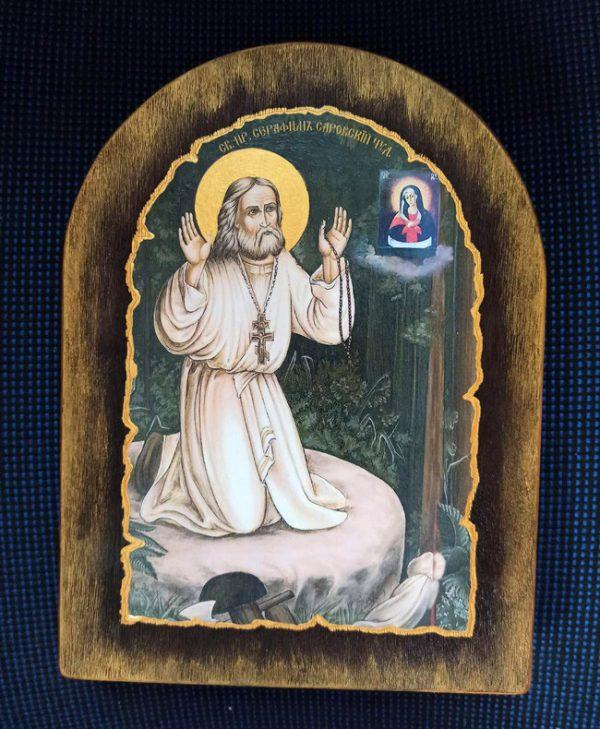 Ікона Святий Серафим  Саровський