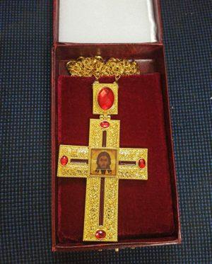Крест Протоиерейский средний с золочением