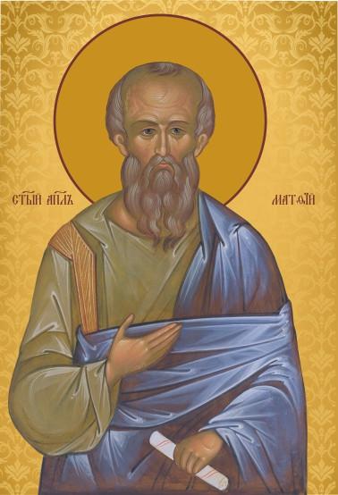 Ікона Святий апостол Матвій