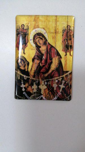 Иконка-магнит Пресвятой Богородицы Кассопитры  (малая)