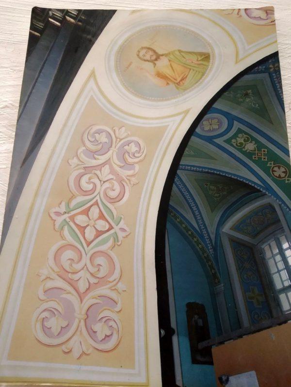 арок и стен храма (фрагменты работ)