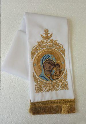 Закладка в Евангелие с вышивкой икон Святых