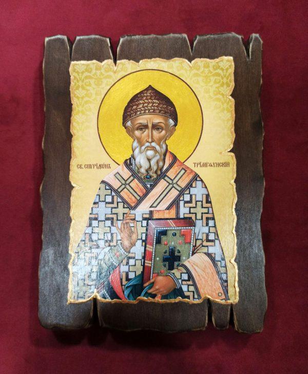 Ікона православна Святий Спиридон