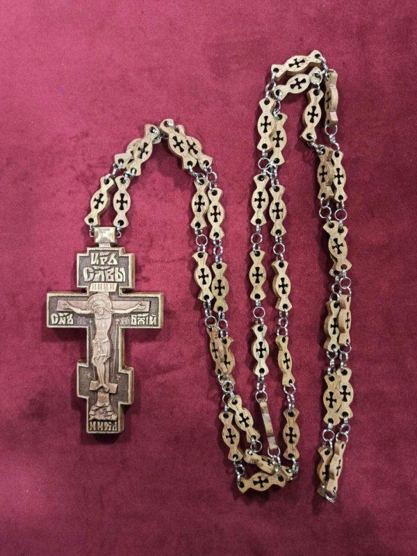 Резной Крест протоиерейский 12х6